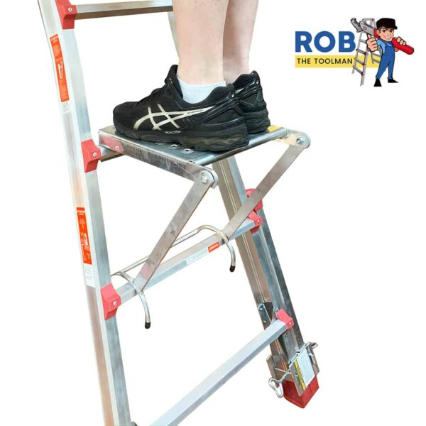 Rob The Toolman Man Stand on Platform