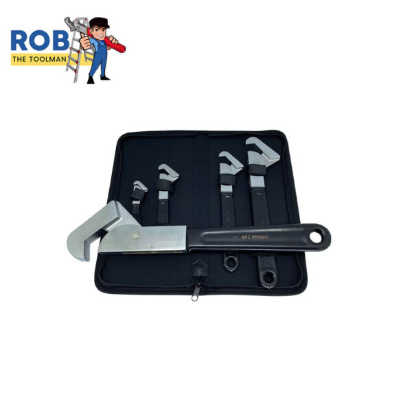 Rob The Toolman Set Wrenches Black Chrome 3