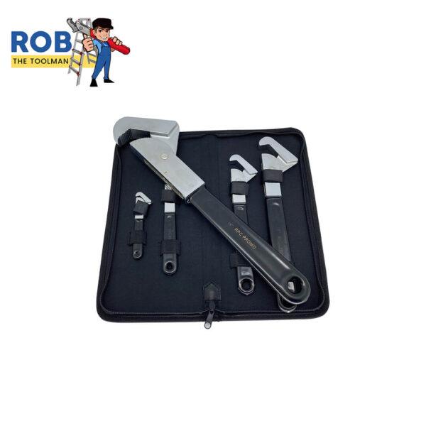 Rob The Toolman Set Wrenches Black Chrome 1
