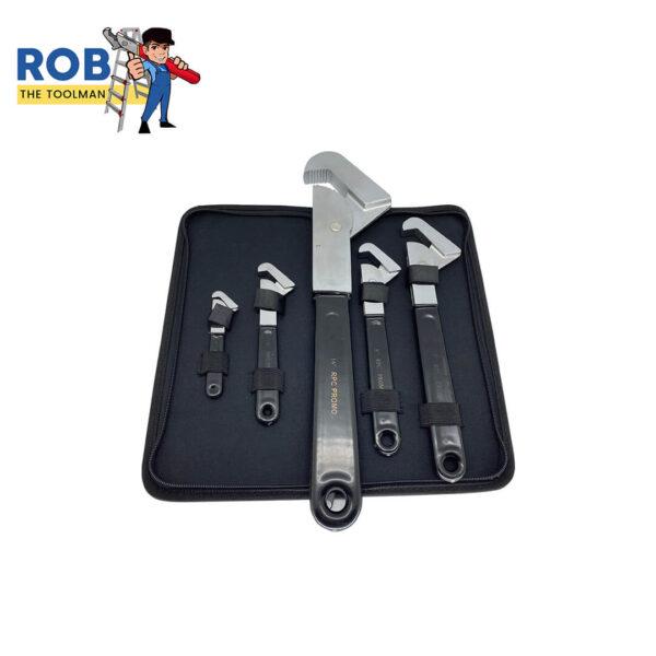 Rob The Toolman Set Wrenches Black Chrome