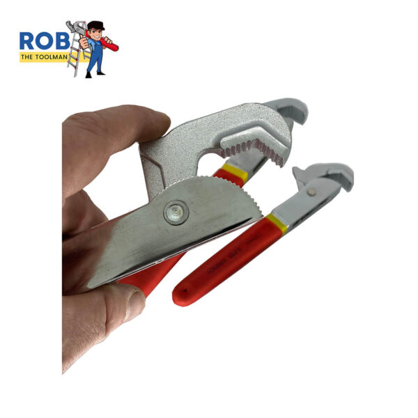 """Rob The Toolman Red Handle 16"""" Wrench Image 3"""