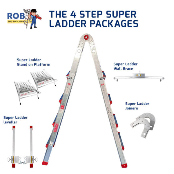 Rob The Tool Man 4 Step Ladder Packages