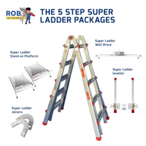 Rob The Tool Man 5 Step Super Ladder Packages