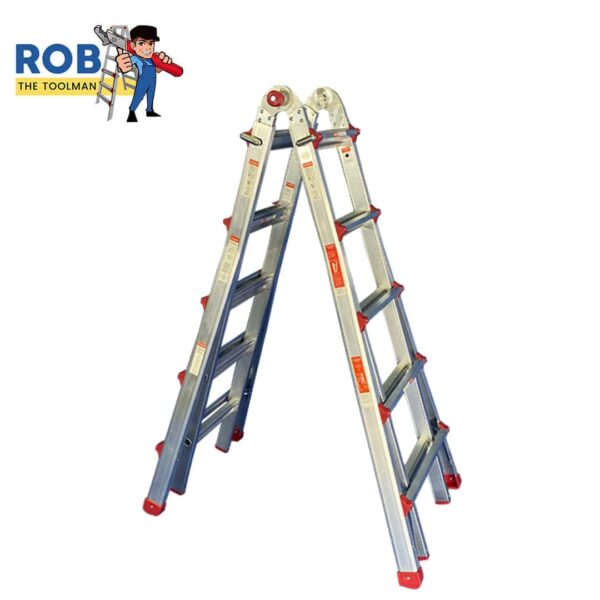 Rob The Tool Man 5 Step Super Ladder Side View