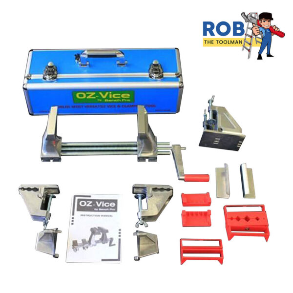 Rob The Tool Man Oz Vice Vise & Clamping Tool Set