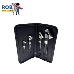 Rob The Tool Man Super Wrench 4 Set Black Chrome 1