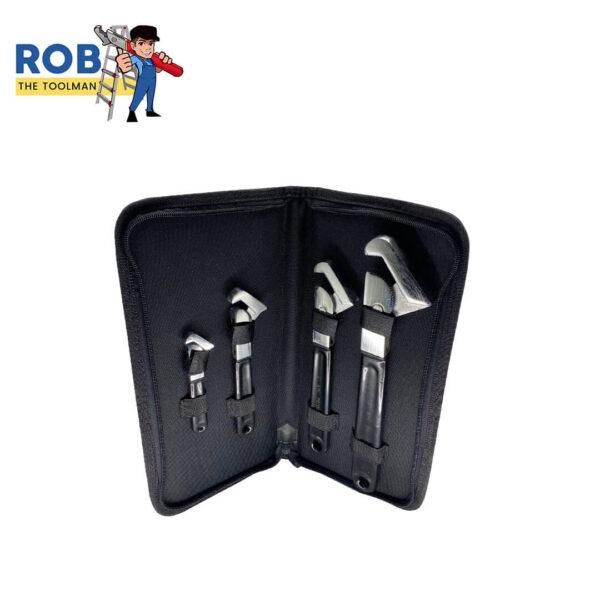 Rob The Tool Man Super Wrench 4 Set Black Chrome 1